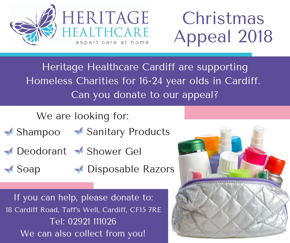 Cardiff's Christmas Appeal 2018