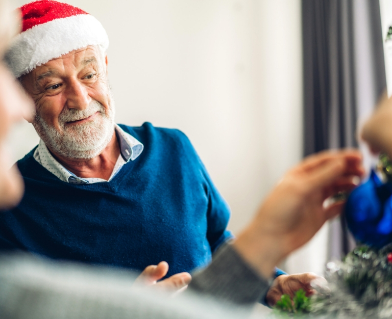 How you can support someone lonely during the festive season