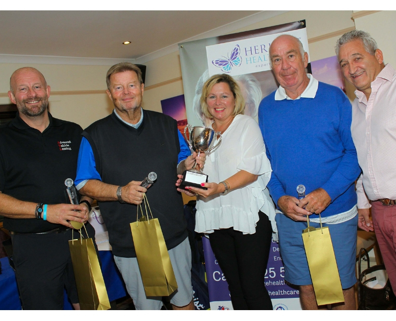 Heritage Healthcare Golf Day Winner