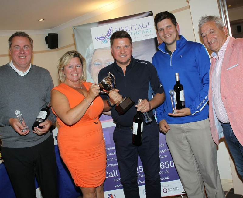 Heritage Healthcare Charity Golf Day Winners